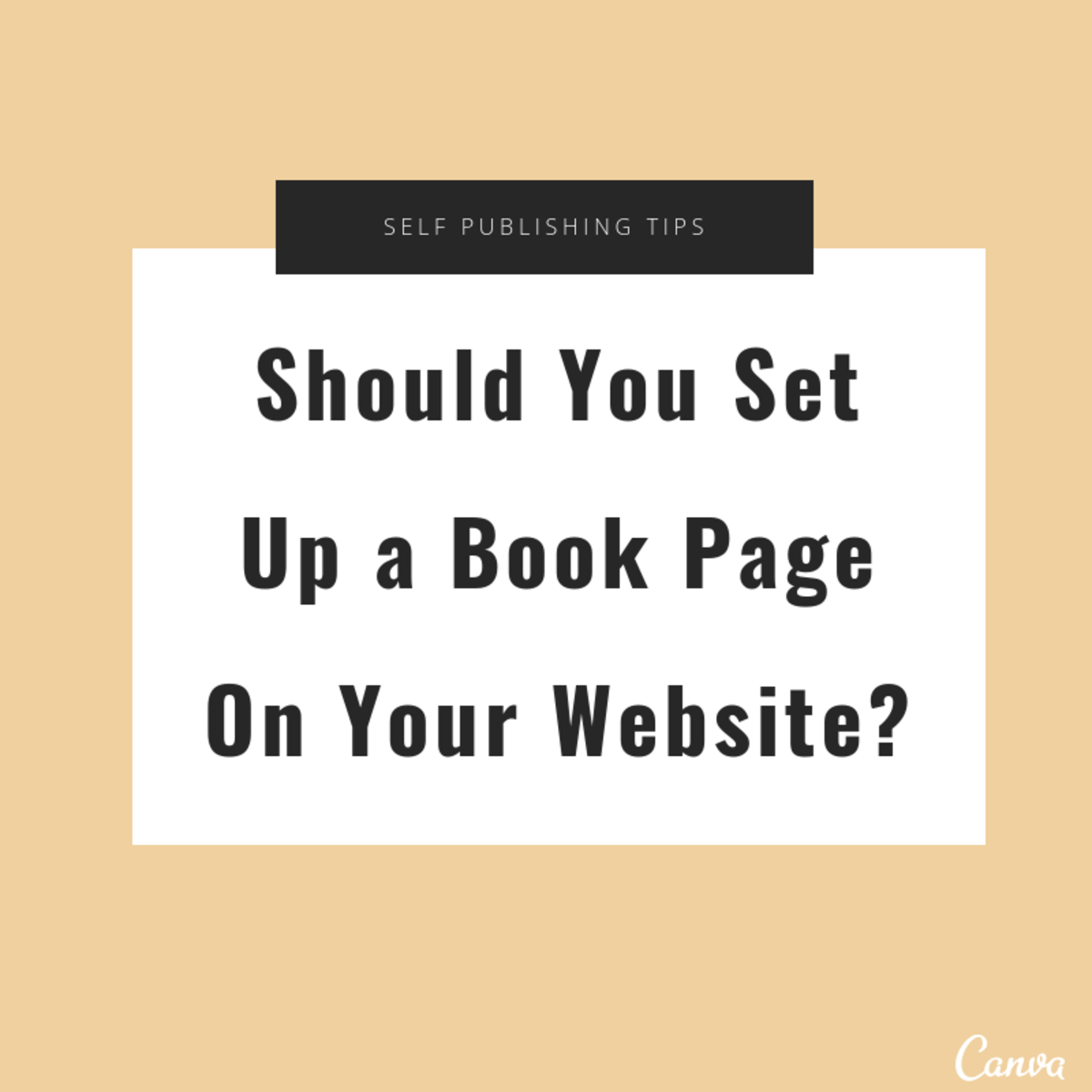 Should You Set up a Book Page on Your Website?