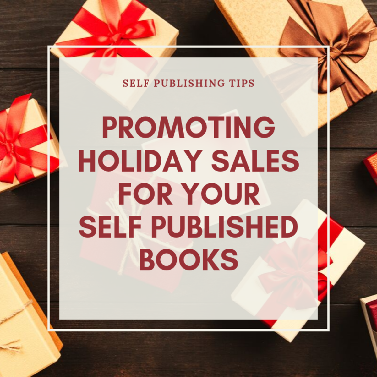 Promoting Holiday Sales for Your Self Published Books