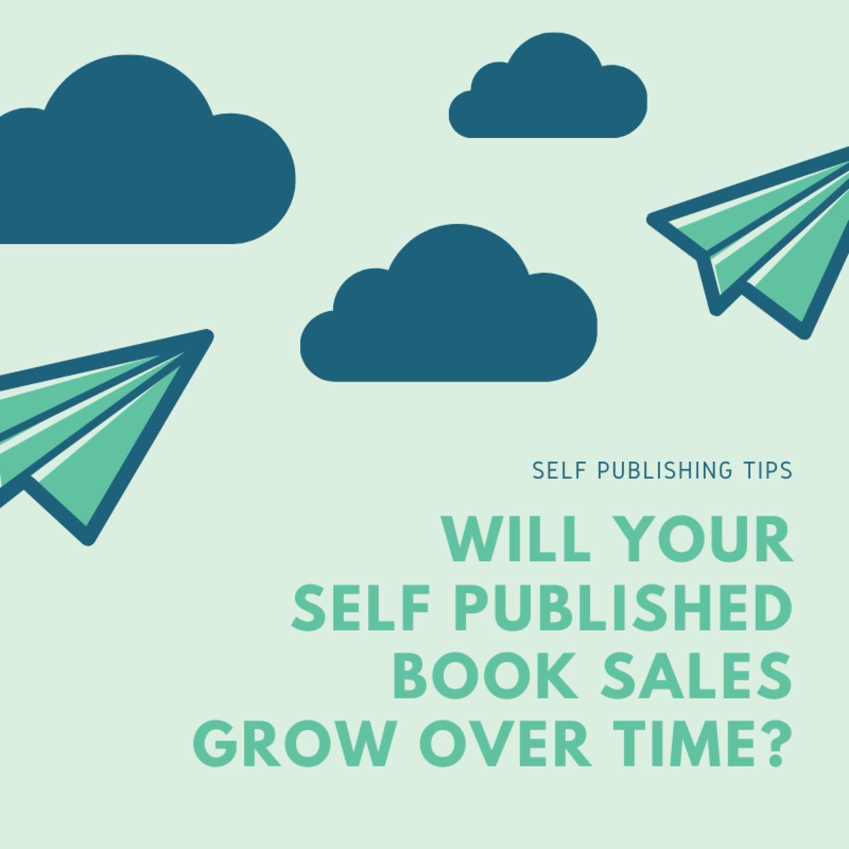 Will Your Self Published Book Sales Grow Over Time?