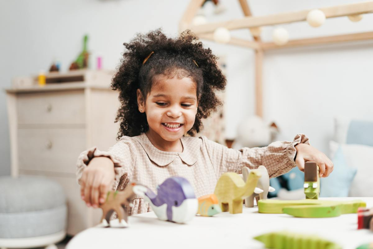 An introverted child may enjoy playing quietly by herself—and that's perfectly normal!
