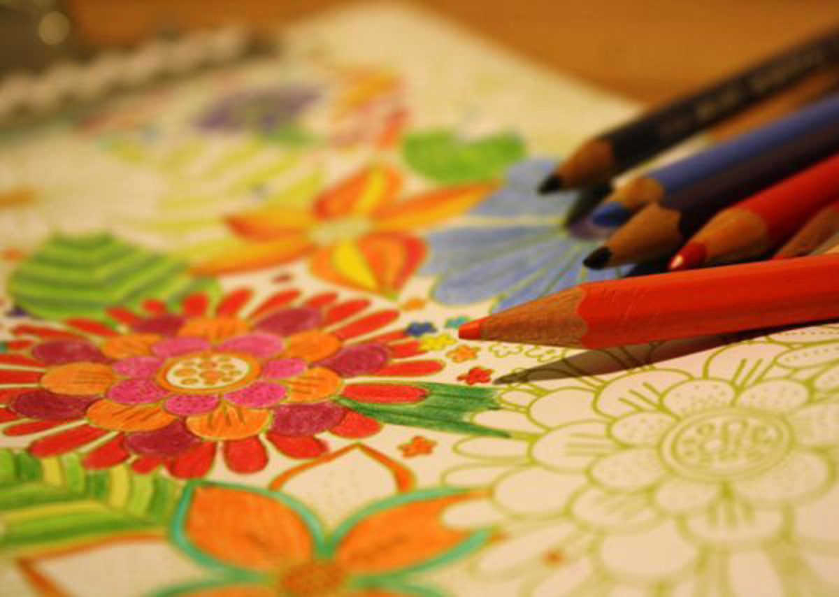 Coloring Activities for Adults with Alzheimer's and Dementia