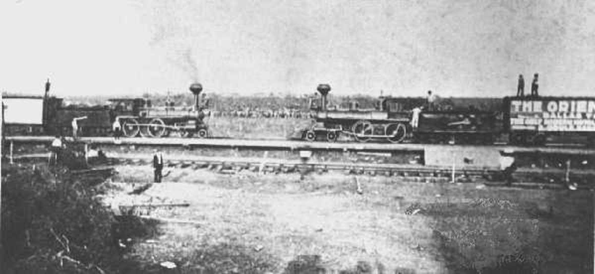 The Crash at Crush-The Staged Train Wreck of 1896