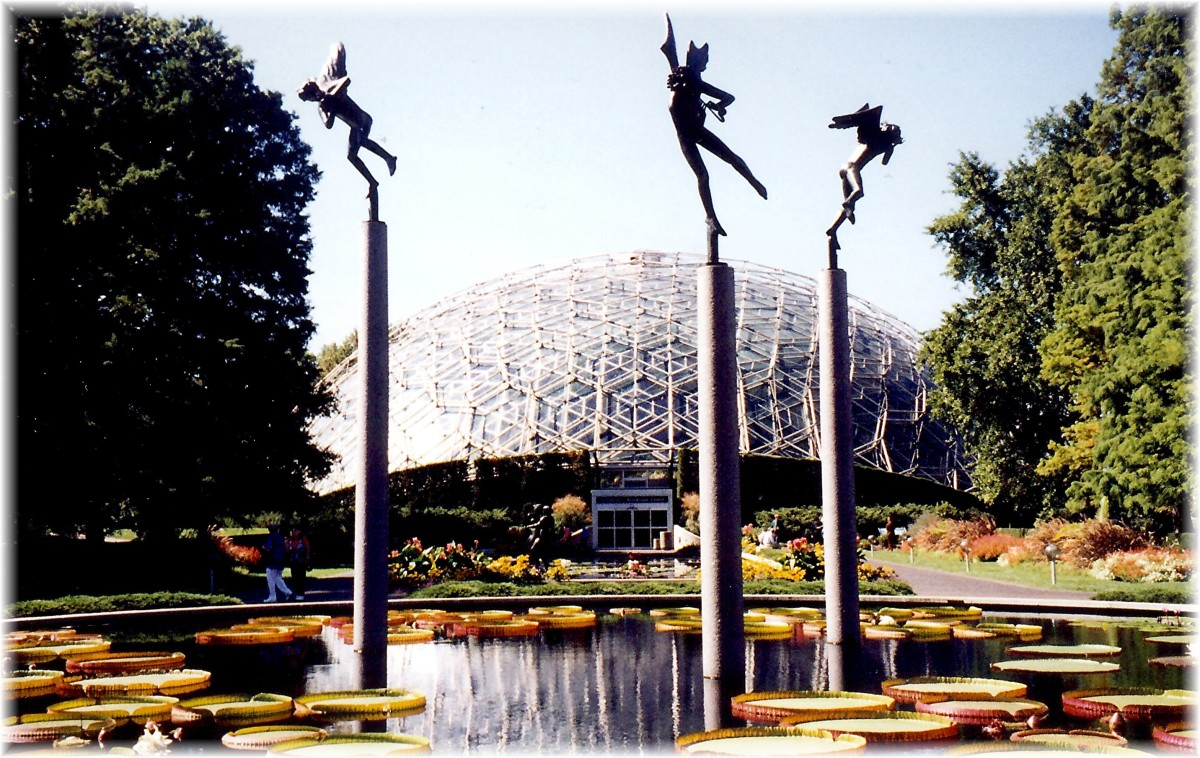 Botanical Garden in St. Louis, Missouri - A National Historic Landmark!