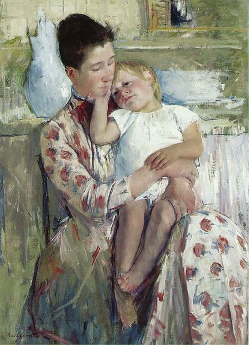 Mothers in Art: Some Mother's Day Paintings and Pictures by Mary Cassatt & Other Great Artists