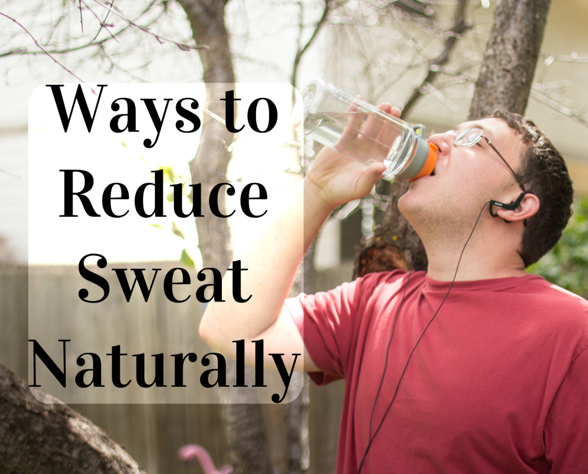 30 Natural Ways to Sweat Less