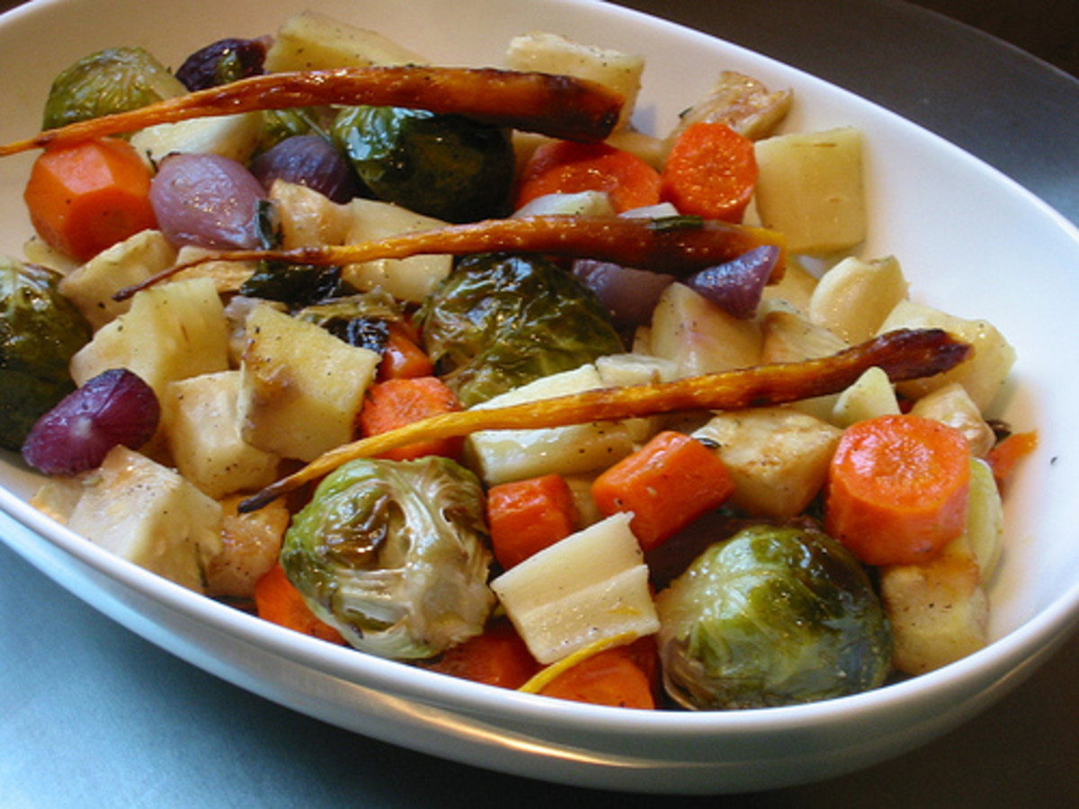 How to Roast Root Vegetables: Potatoes, Carrots, Yams...