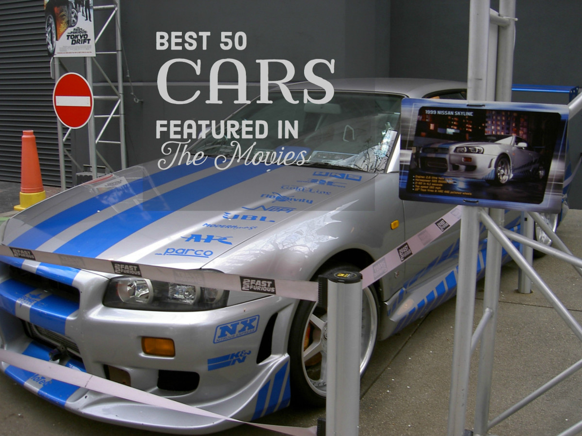 The Nissan Skyline GT-R used in 2 Fast, 2 Furious (2003).