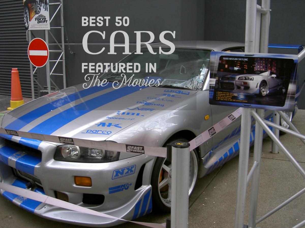 Top 50 popular sports cars
