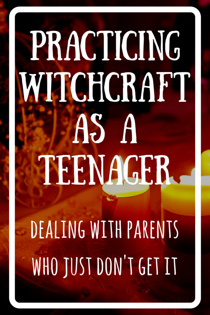 How to practice witchcraft while living with your parents.