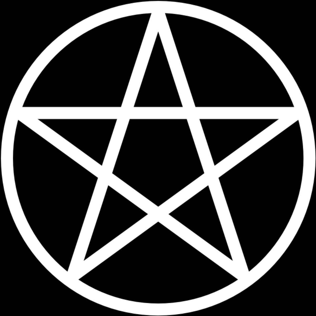 The pentagram is most often associated with neo-Paganism but it was used in many different traditions including Christian magic.