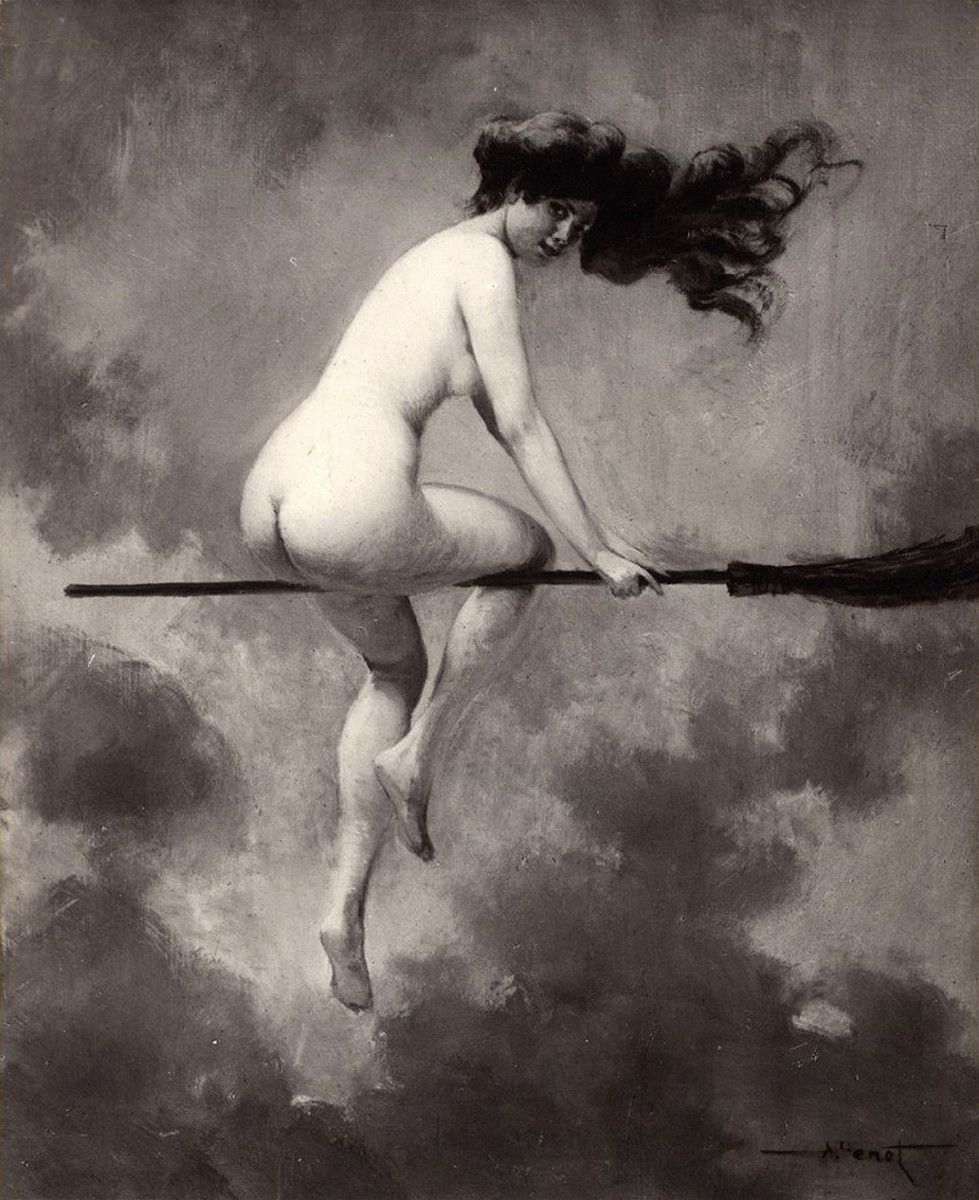 "Albert Joseph Penot ""Depart pour le Sabbat"" (1910)"