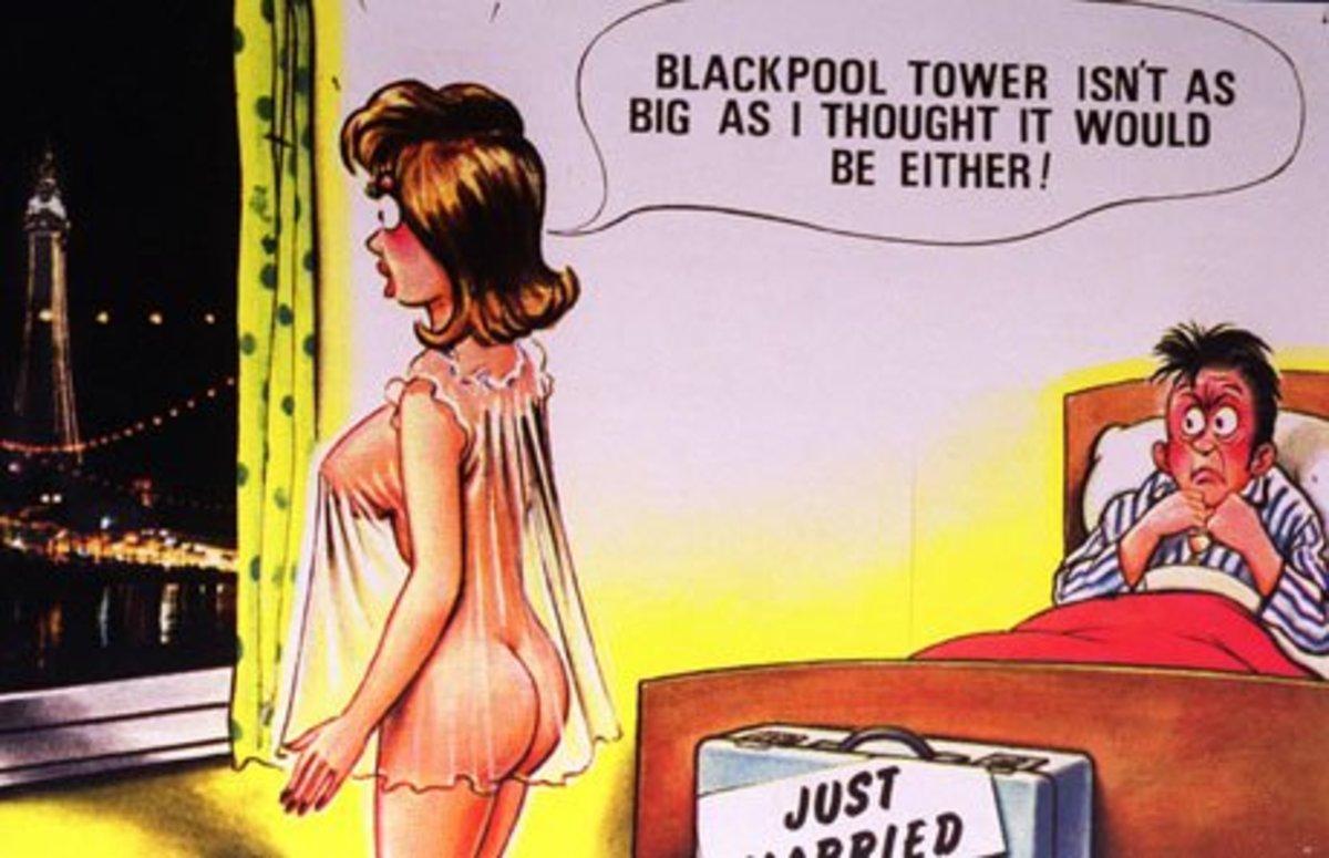 Saucy British Postcards