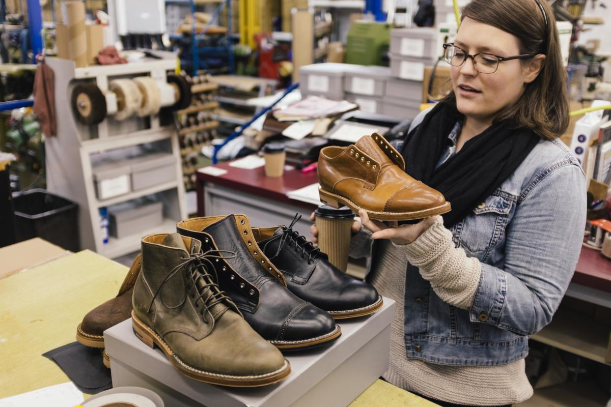 Viberg boot factory, Victoria BC.  Marginal costing can help decide what to manufacture, where to manufacture it, and which customers to target:  especially when making short-term decisions.