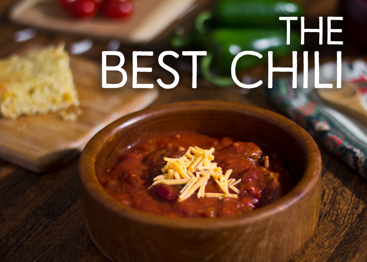 My award-winning chili recipe.