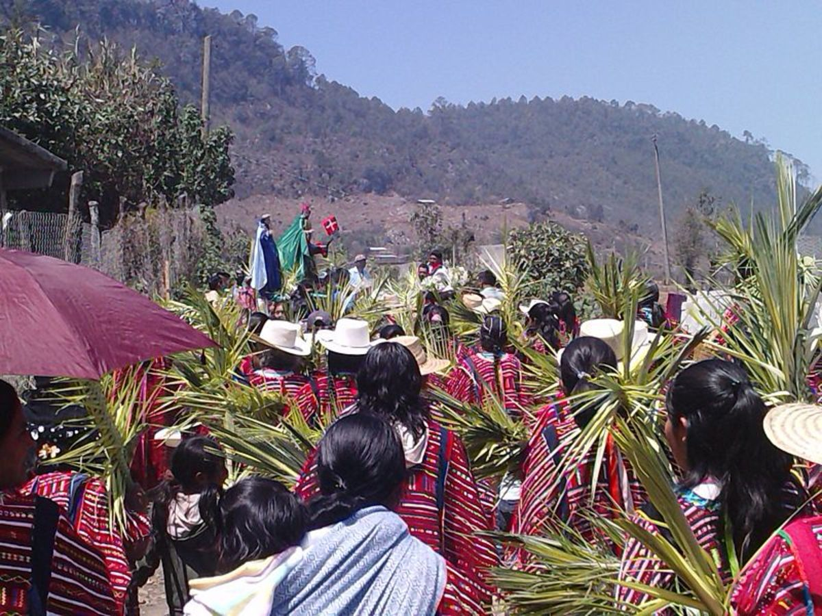 A Holy Week Celebration with the Trique People in Mexico.