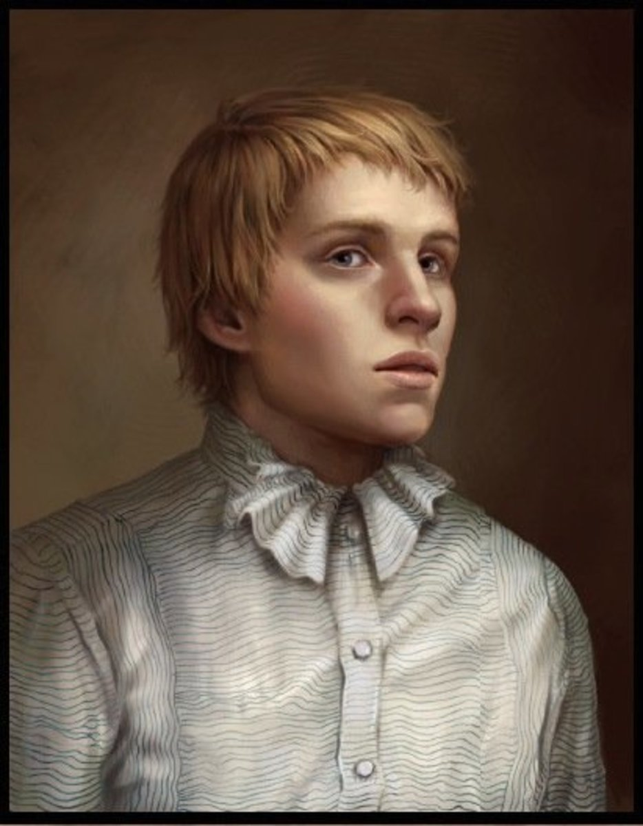 An artist's depiction of what John Torrington looked like the year of his death in 1846