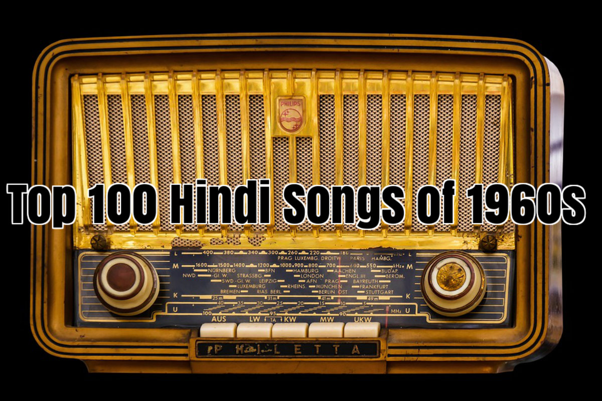 Top 100 Hindi Songs of 1960s