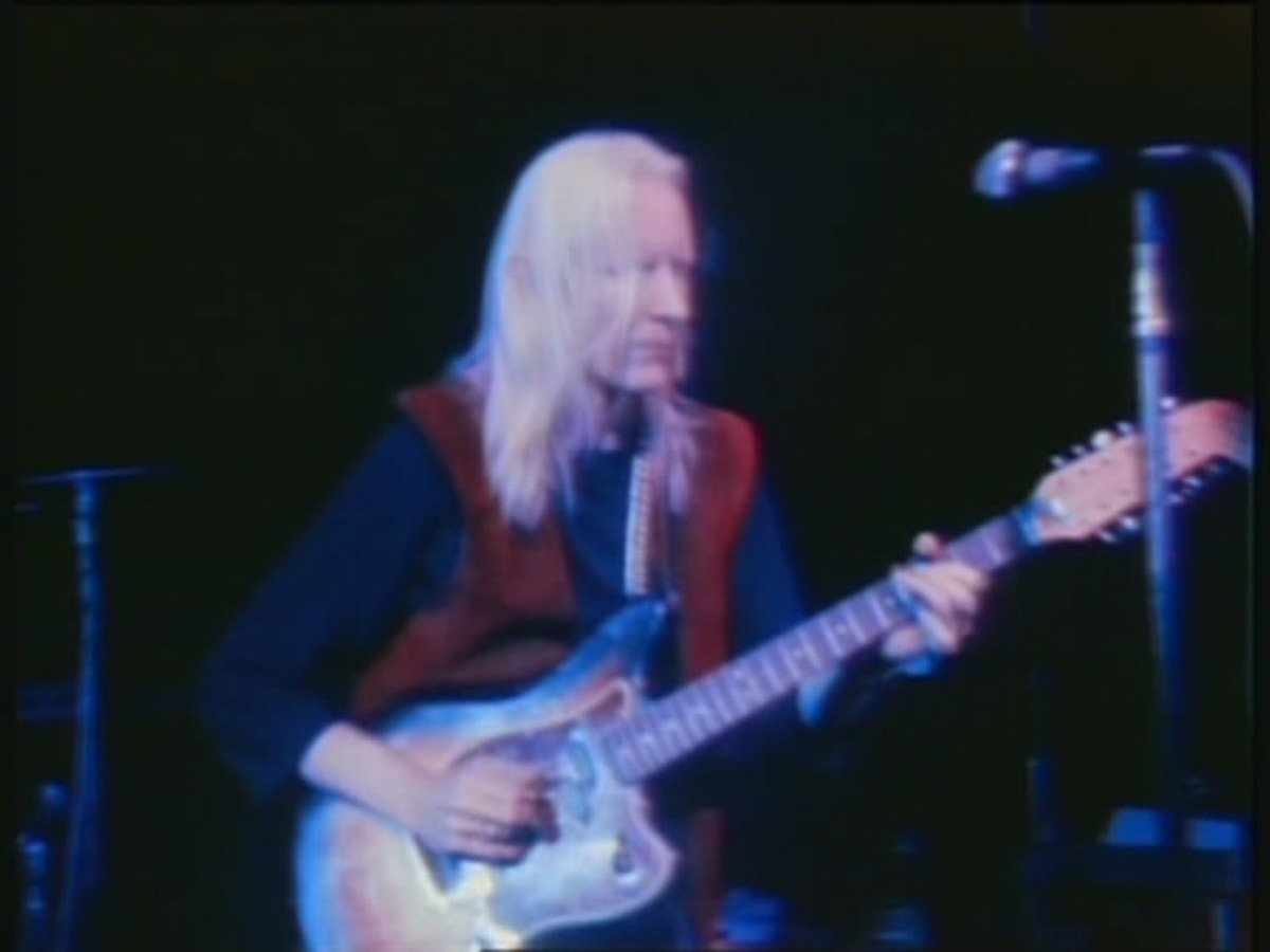 Woodstock Performers: Johnny Winter