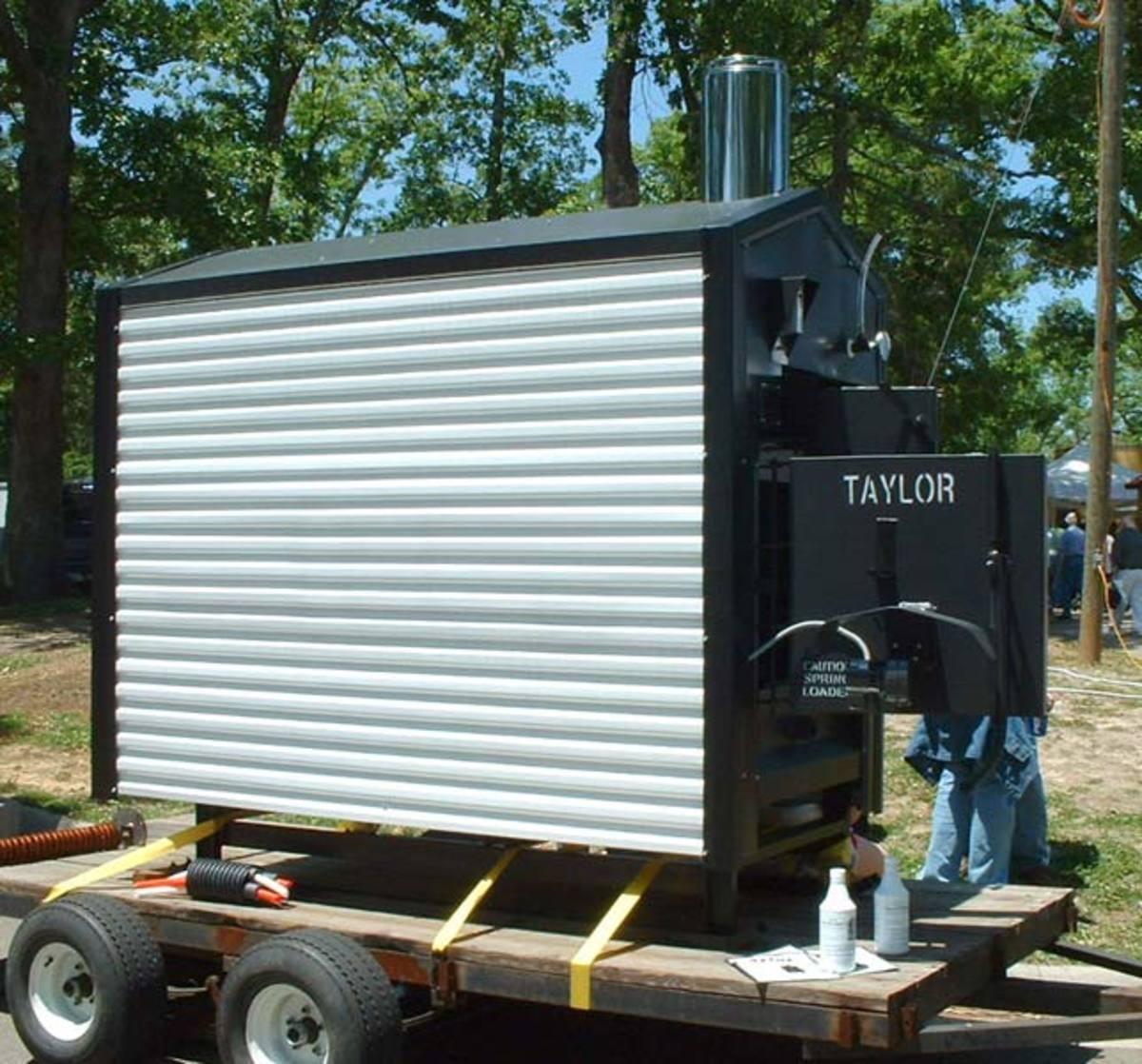 A Taylor Wood Stove