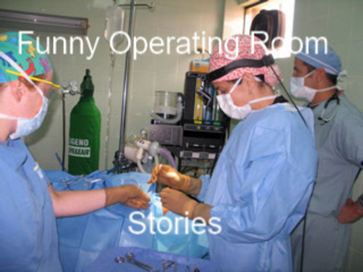 Funny Operating Room Stories:  As Told By a Nurse