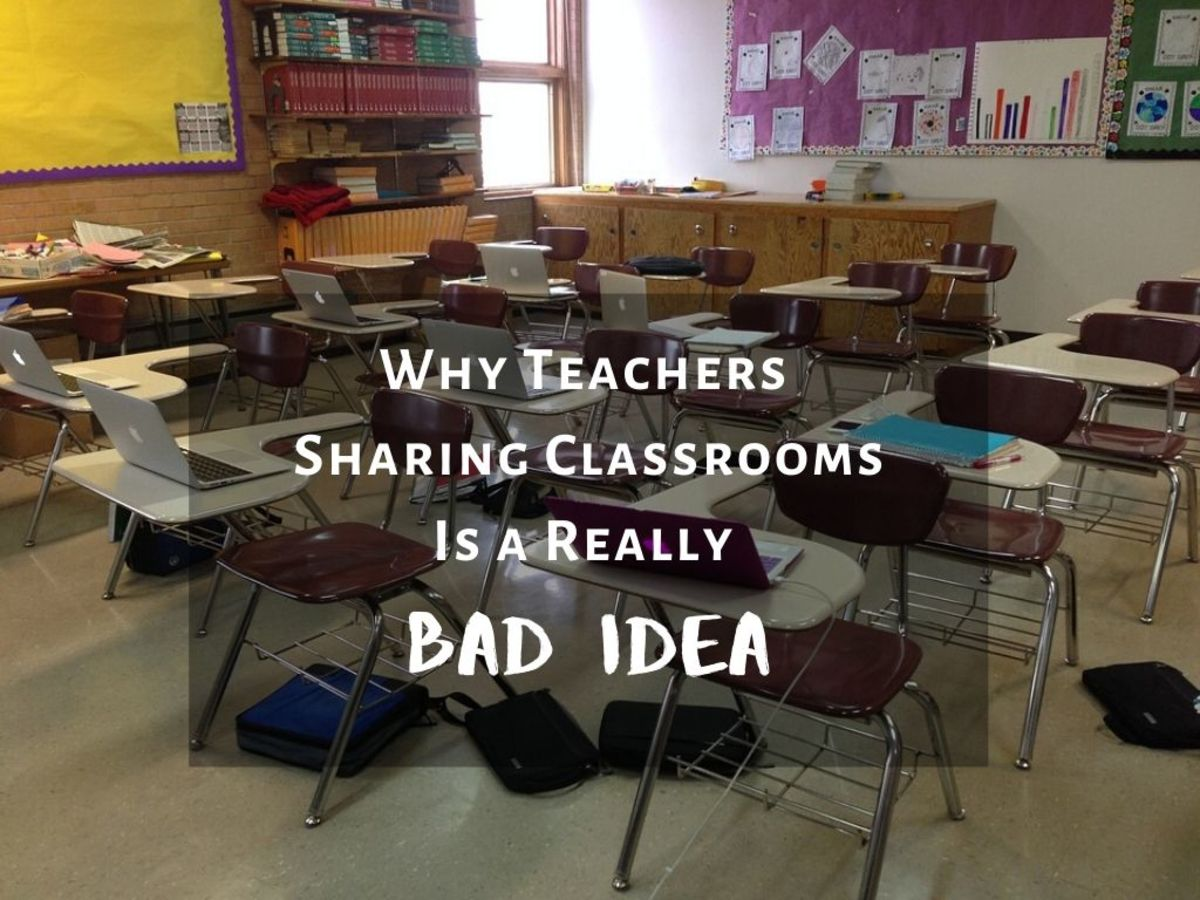 Why Teachers Sharing Classrooms Doesn't Work in Public Education!