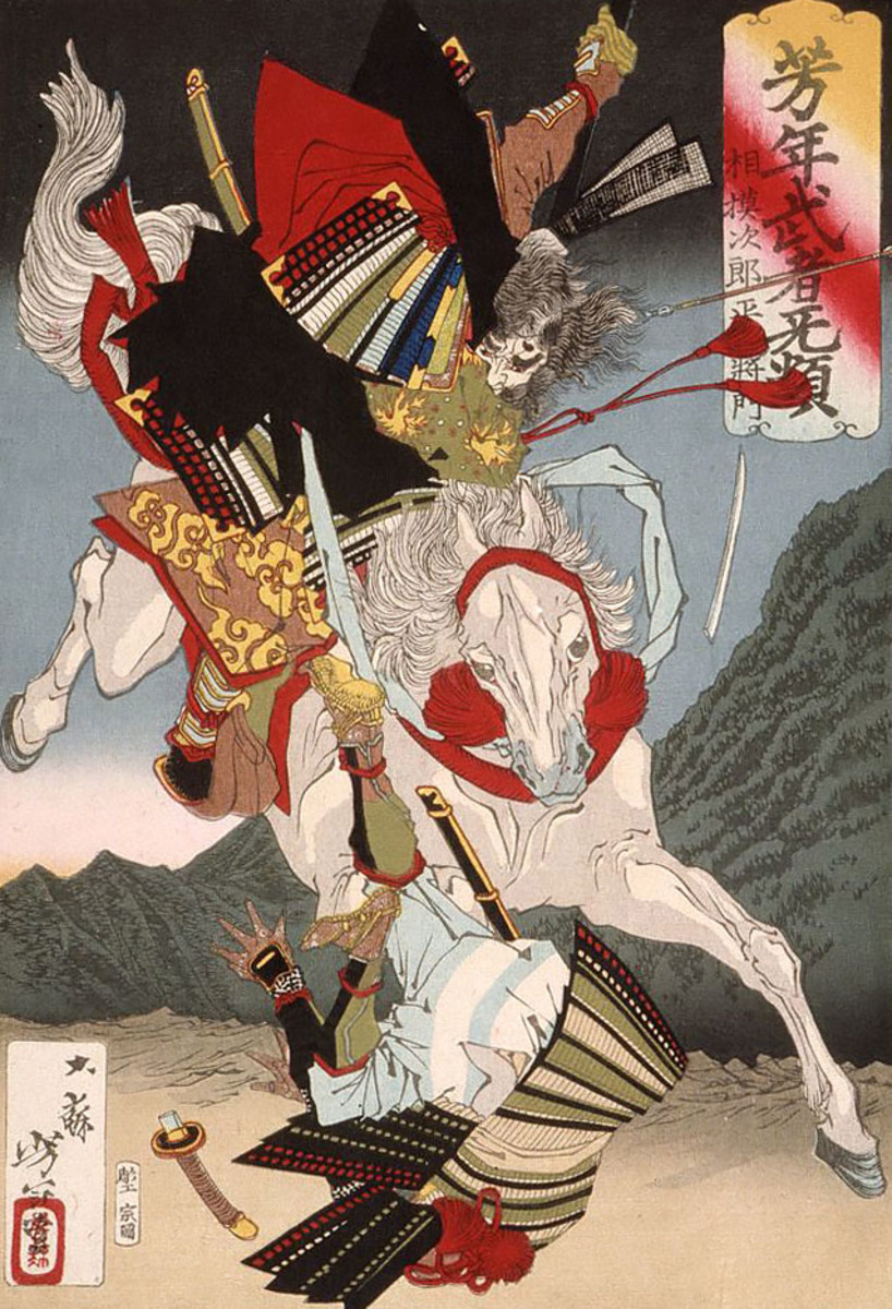 Five famous Japanese rebels who left permanent marks in the history and culture of Japan.
