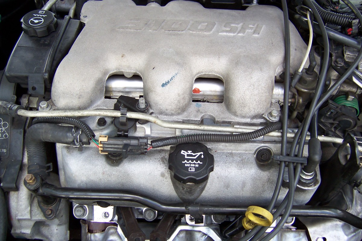 Upper intake manifold, Chevy 3.1-liter engine