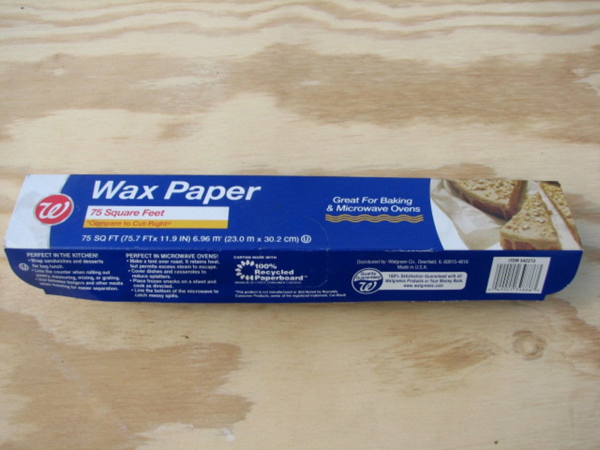 Go Green With Wax Paper Instead Of Plastic Wrap