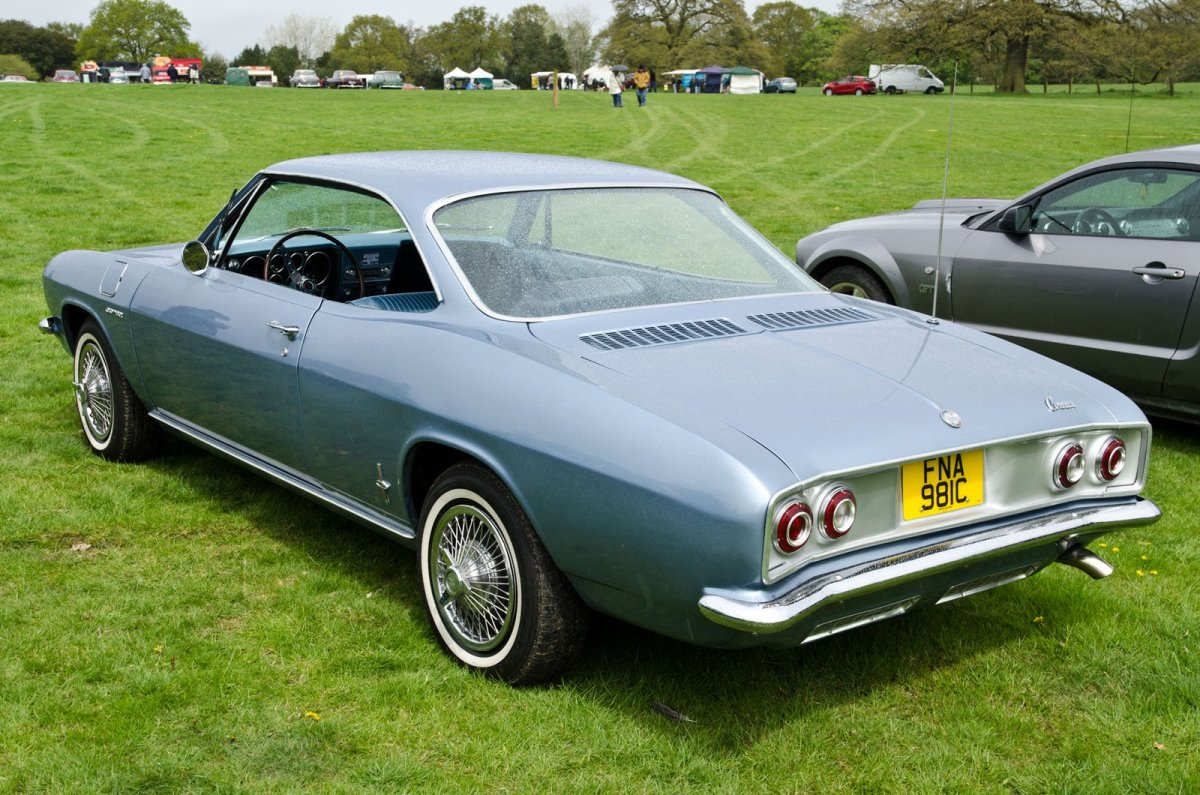 Corvair Corsa or Monza: Nearly Identical Classic Cars