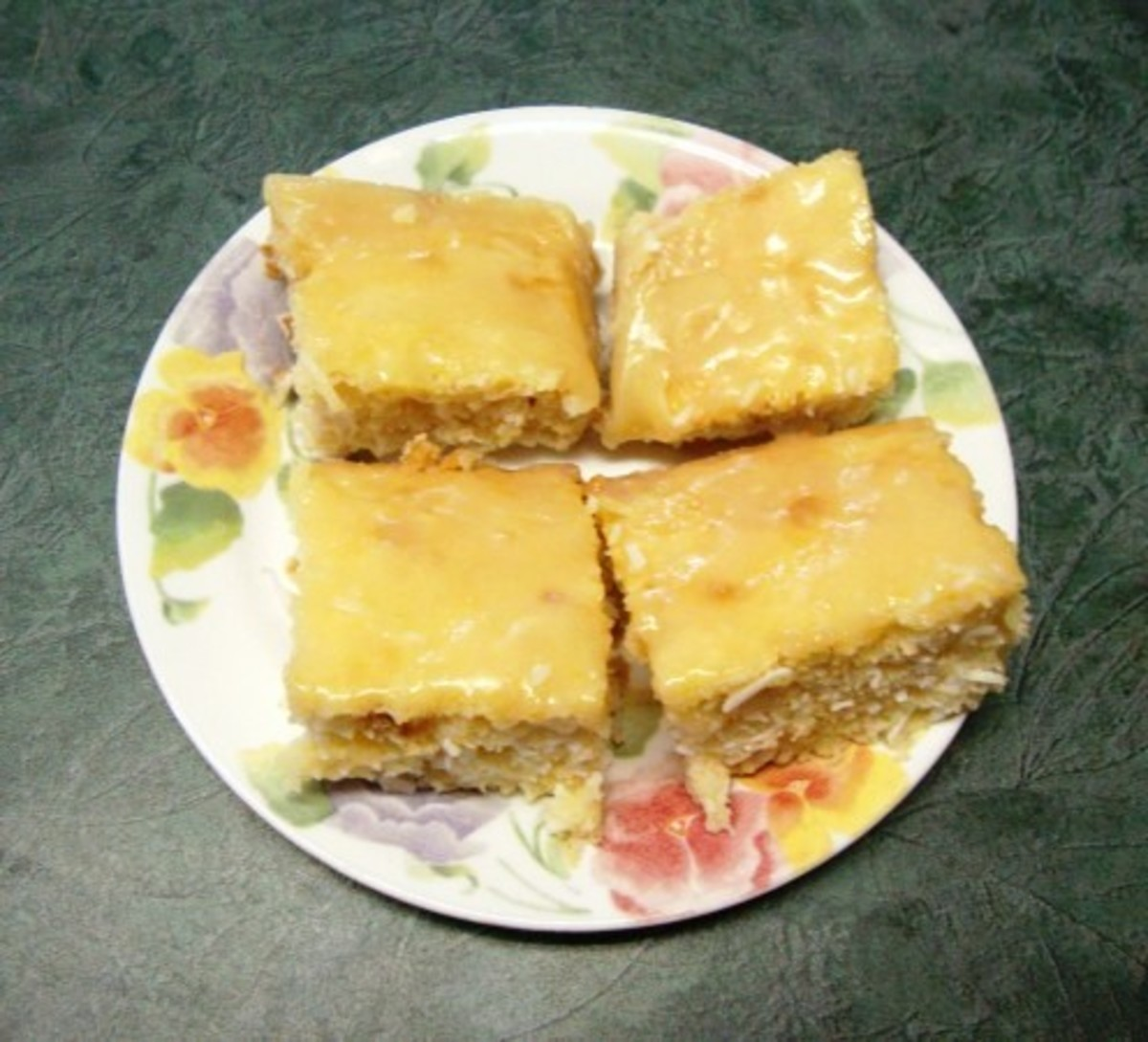 Glazed Pineapple-Coconut Cake