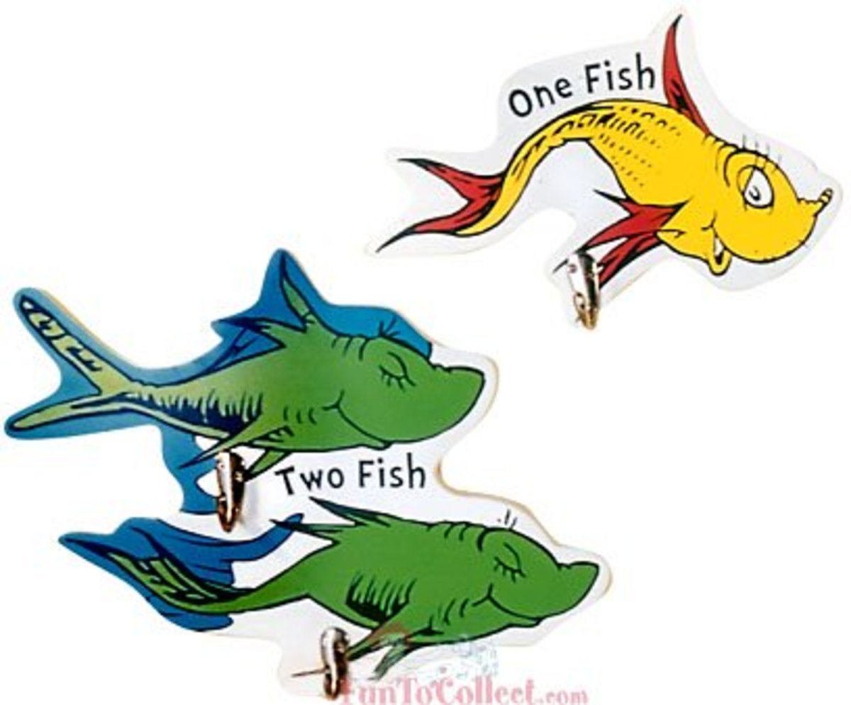 One Fish, Two Fish; Red Fish, Blue Fish - Which Is Your Favorite Dr. Seuss Book?