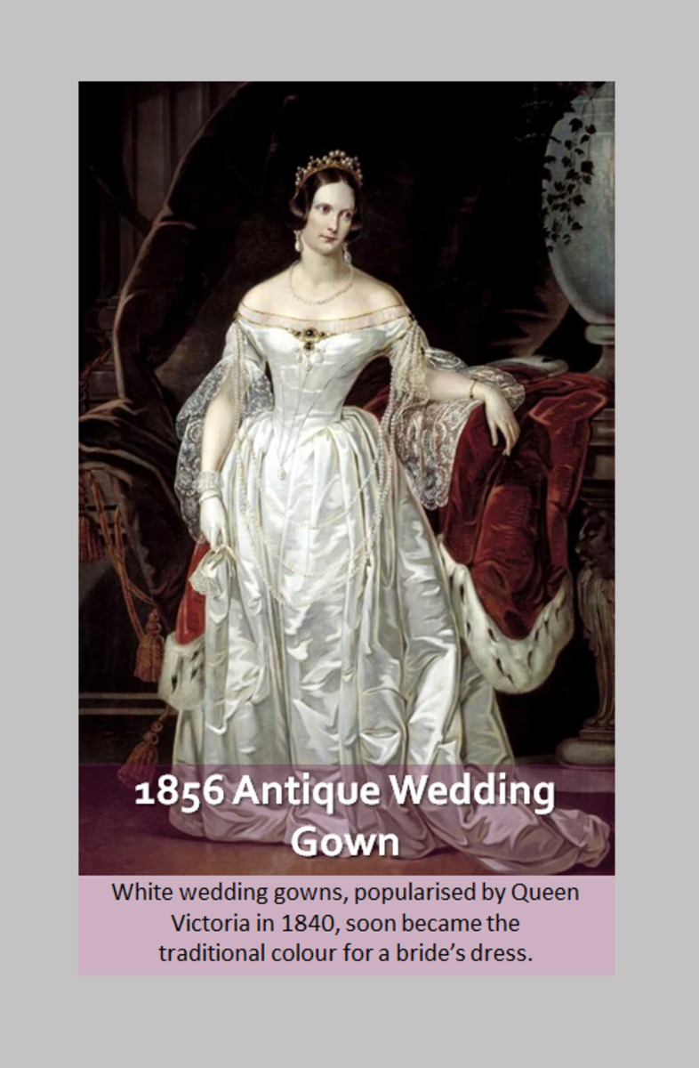 600 Years of Wedding Dress Styles
