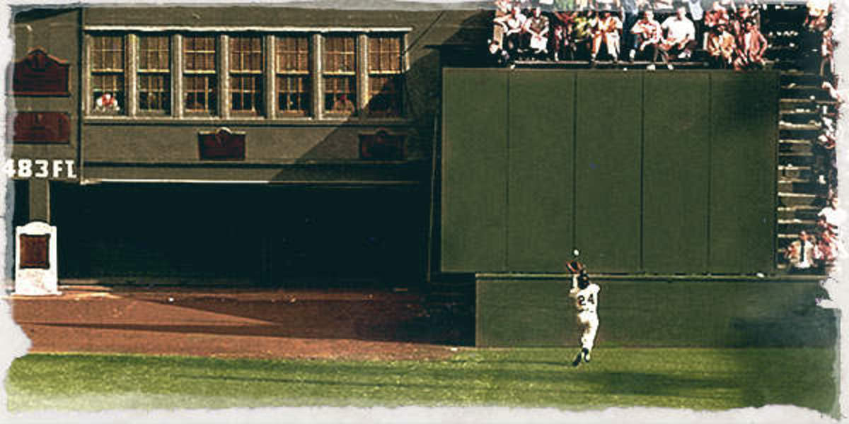 Willie Mays could chase down any ball hit as long as it stayed in the park.