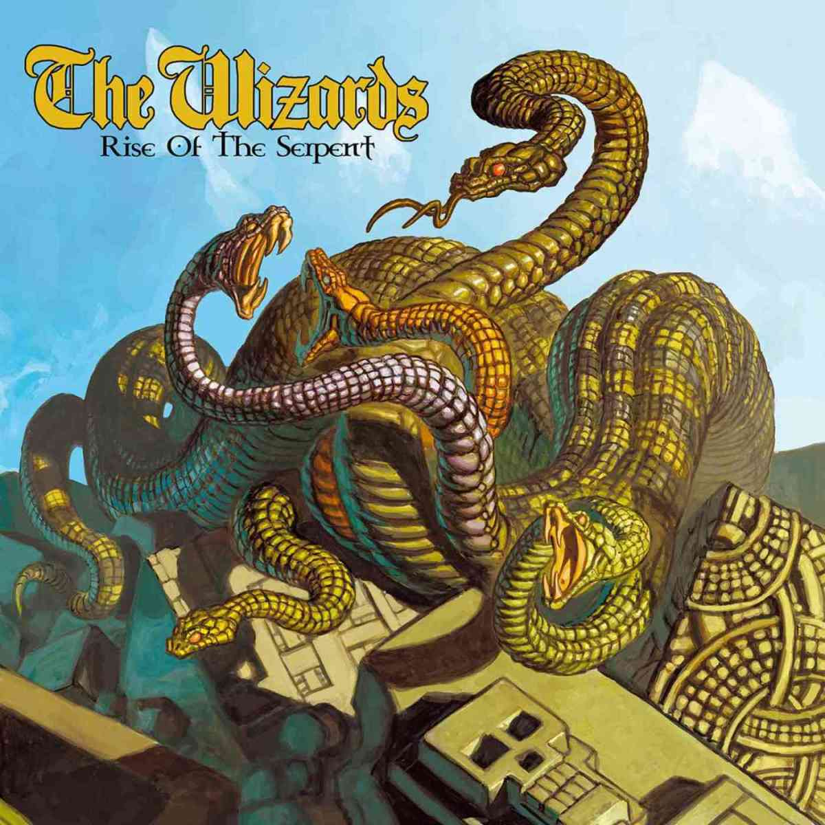 The Wizards- Rise Of The Serpent Released November 9th 2018  on High Roller Records