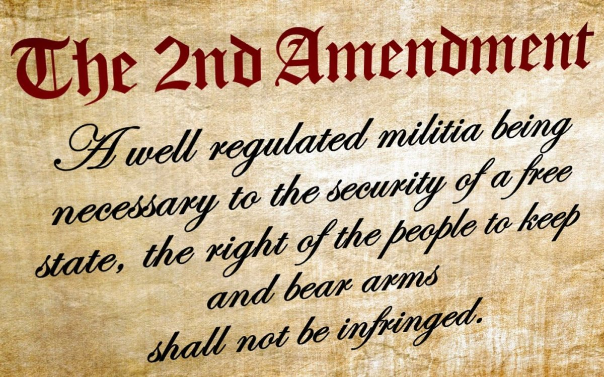 2nd Amendment Under Attack After School/Mass Shootings
