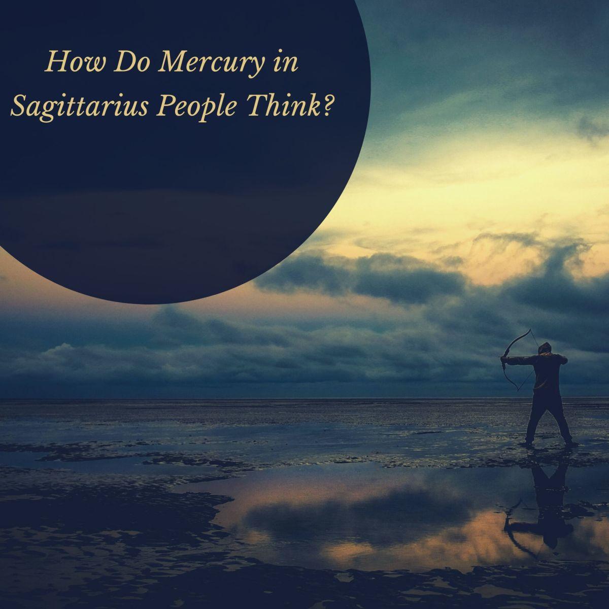 Mercury in Sagittarius Thinkers