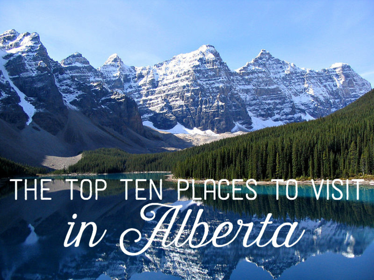 The top ten places to visit in alberta for Places to travel in canada