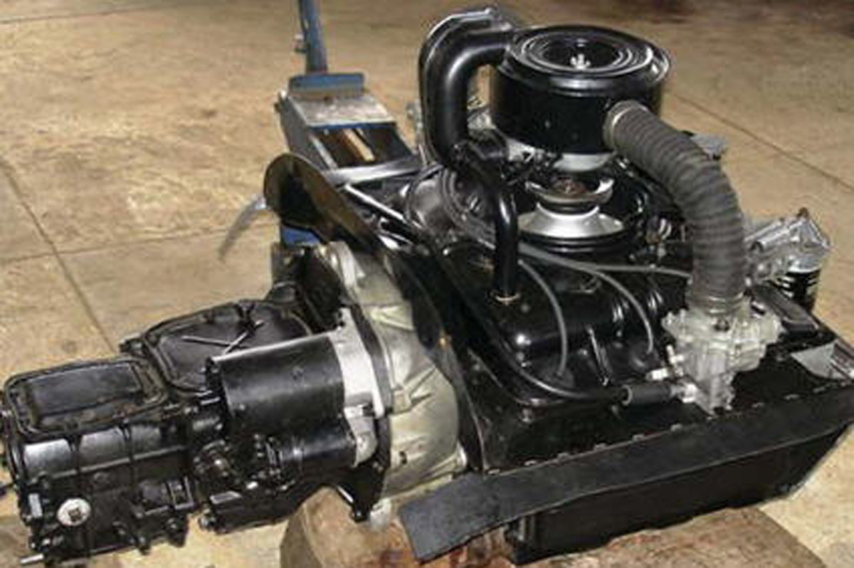 The Corvair Early Model Engine