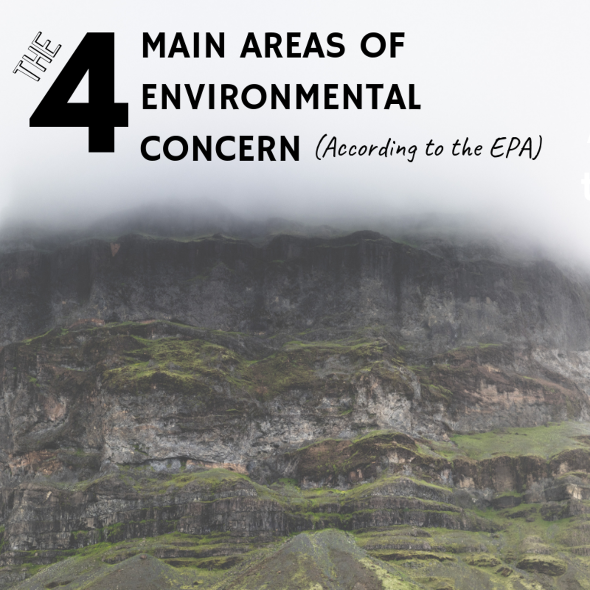 The 4 Major Environmental Issues and Concerns of the EPA