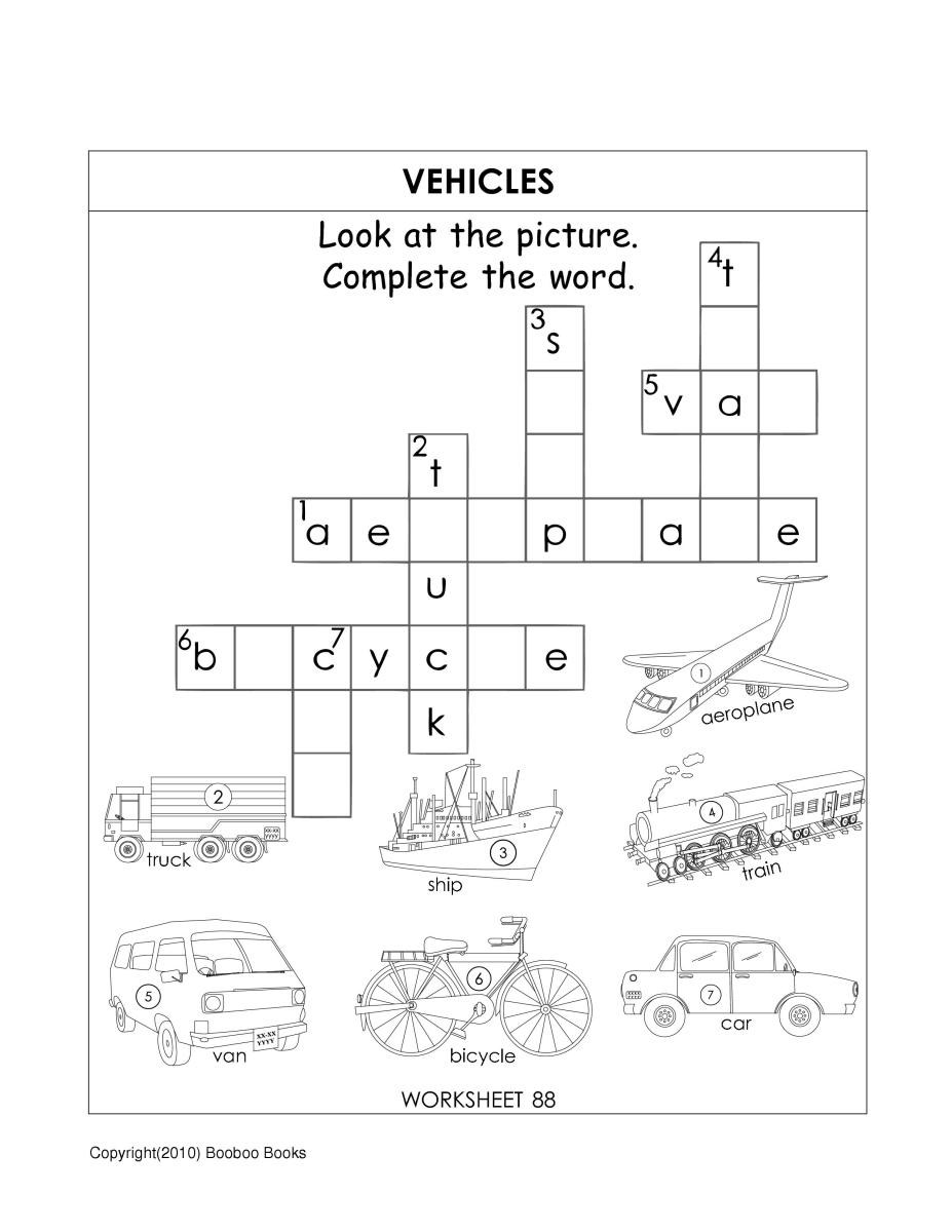 Sle general knowledge worksheet for kids