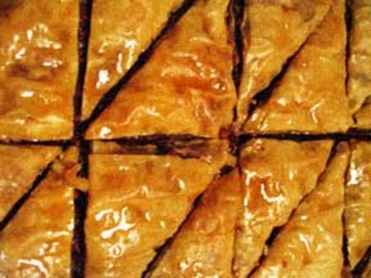 Nut Free Baklava Recipe