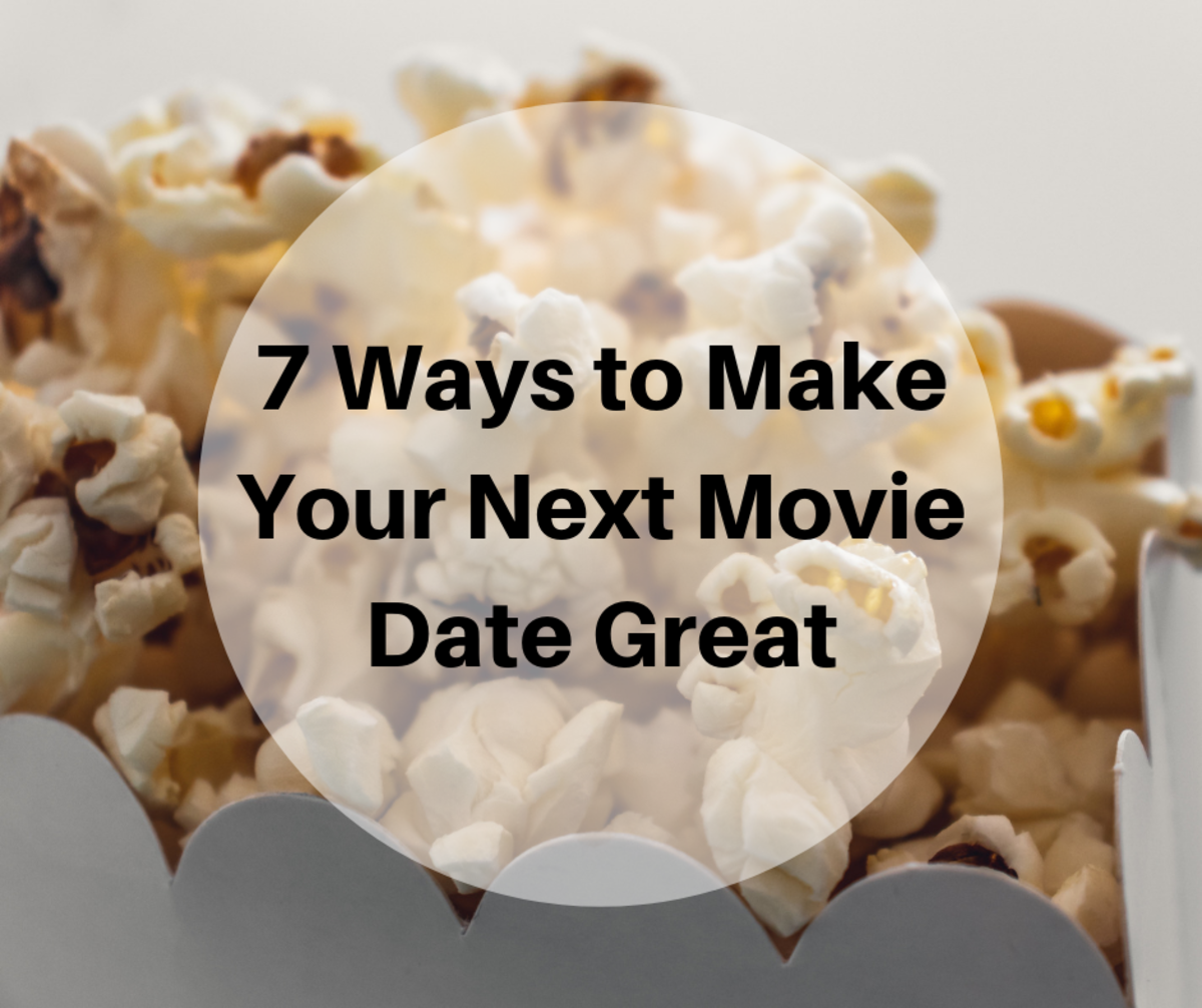 Tips for taking someone special to a movie.