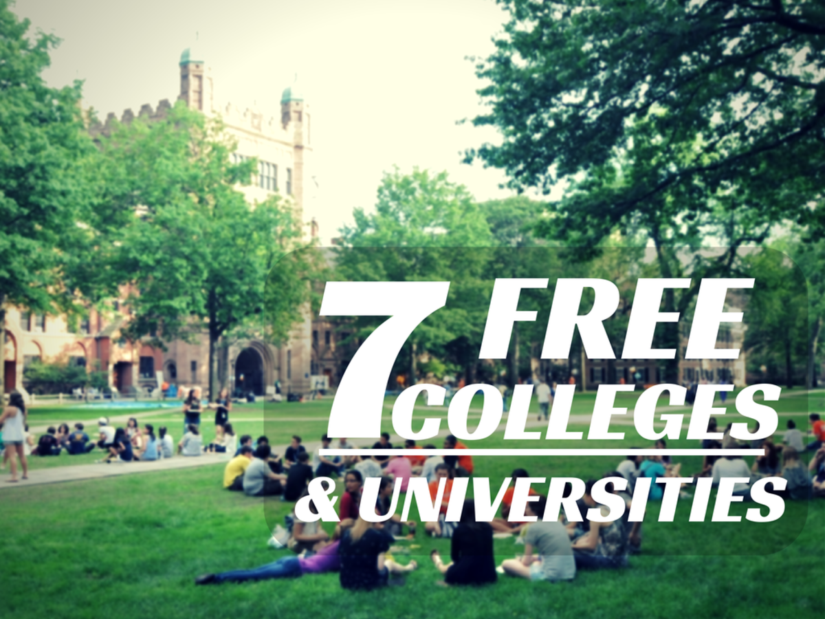 Tuition-free college and universities