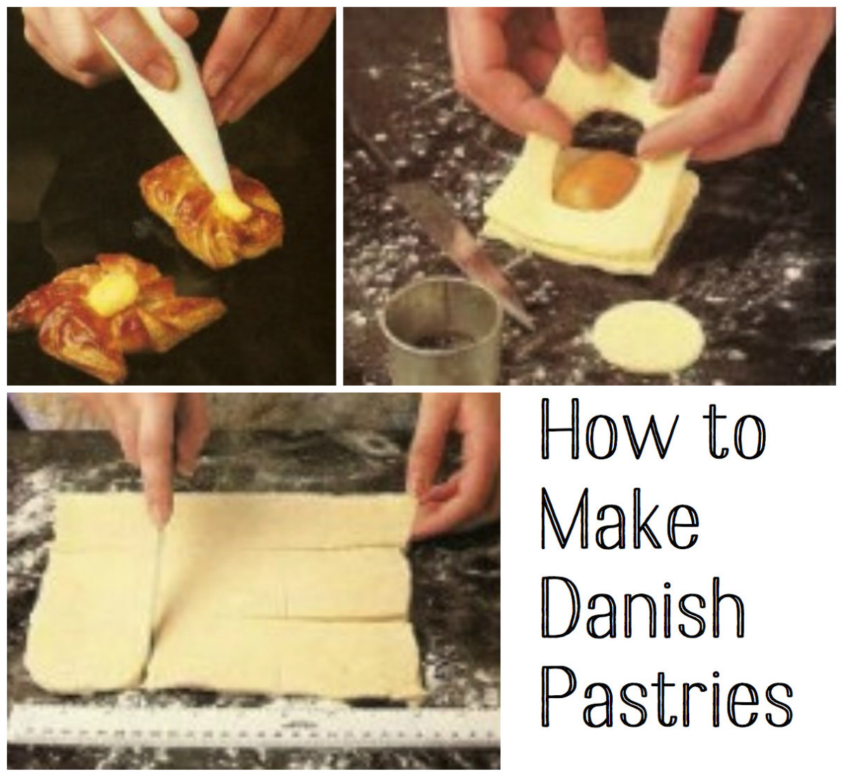 How to Make Danish Pastries: Step-by-Step With Pictures