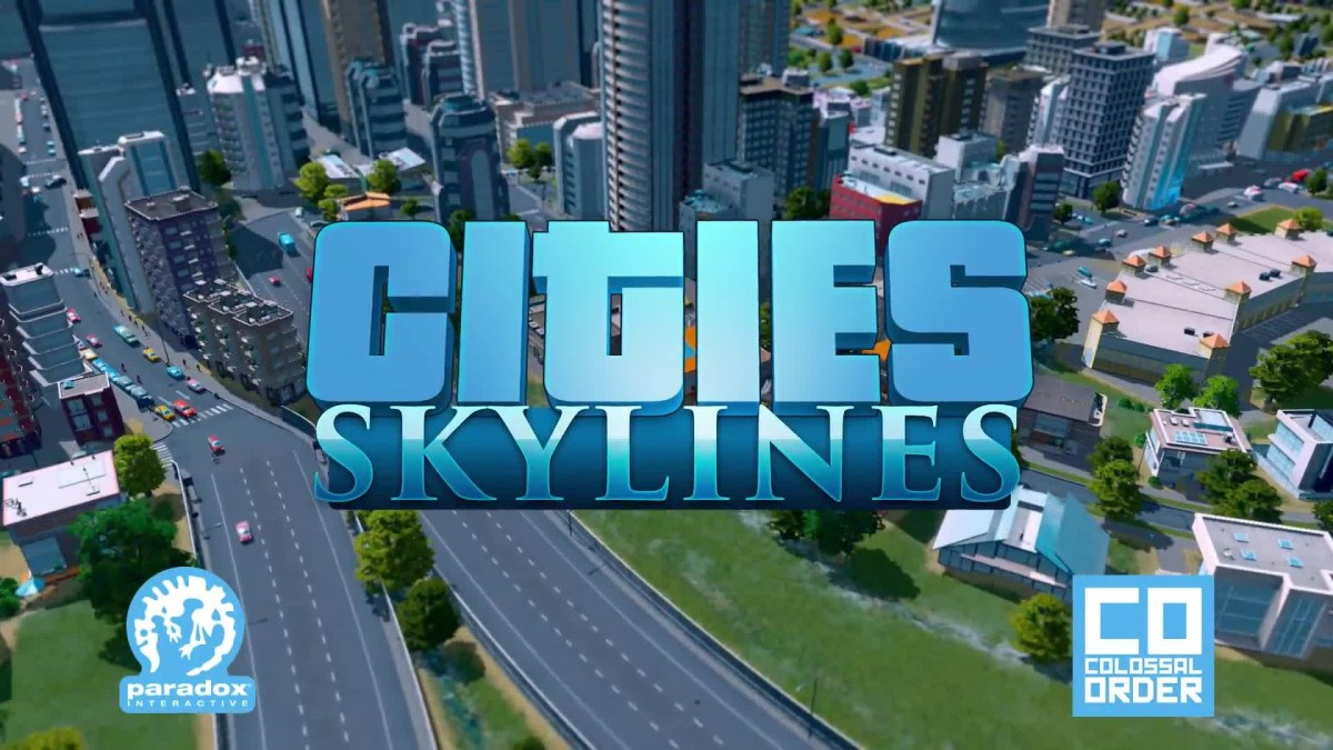 """Cities Skylines"" Title Screen"