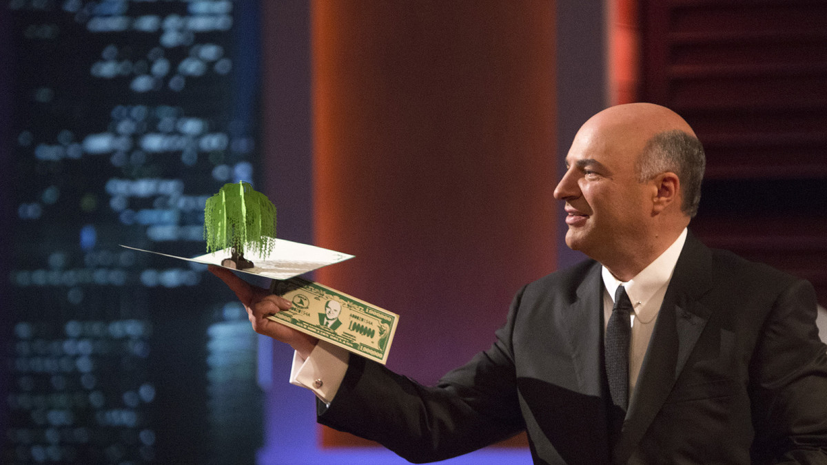 Money makes Kevin's world go round.