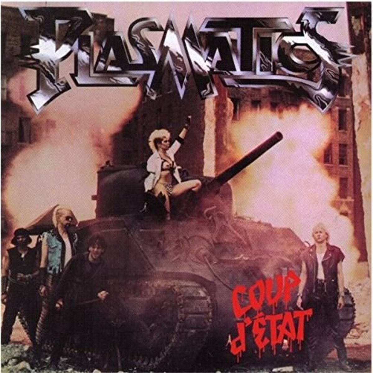 "Plasmatics ""Coup D'Etat"" album cover"