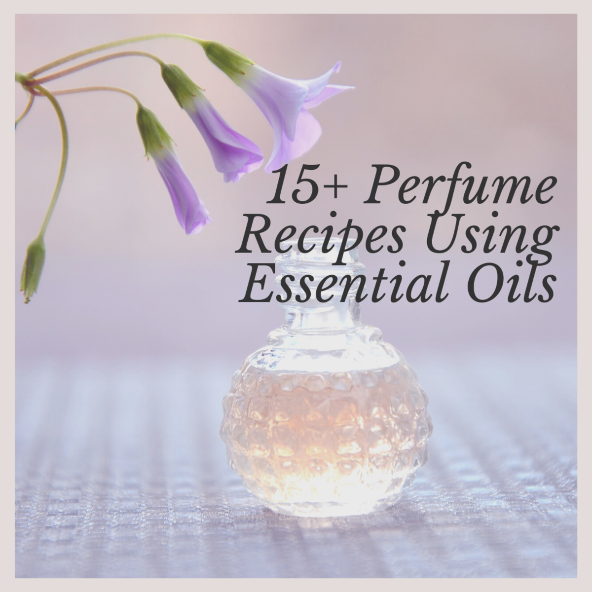 There are different types of recipes that you can make using different combinations of essential oil, depending on what kind of vibe you want to emit.