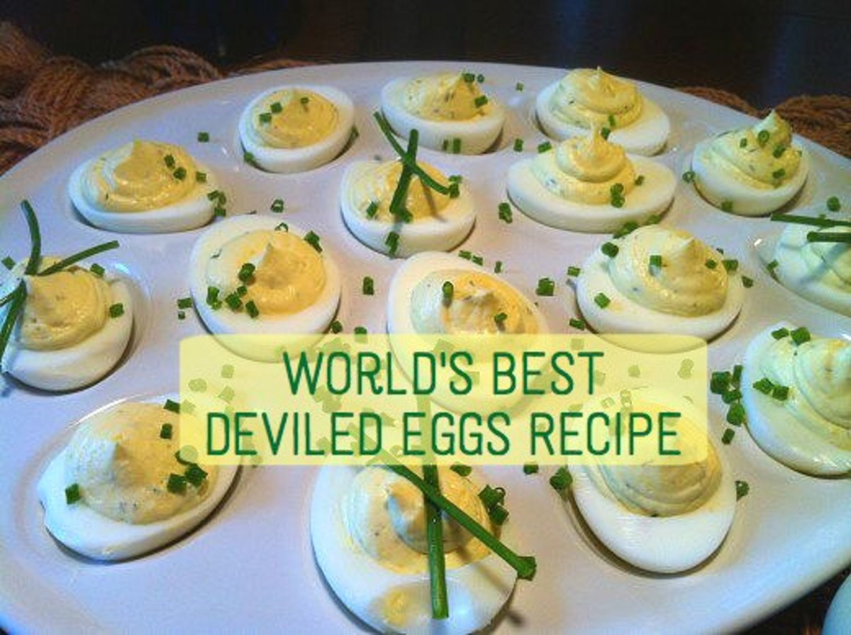 Worlds best deviled eggs recipe delishably forumfinder Choice Image