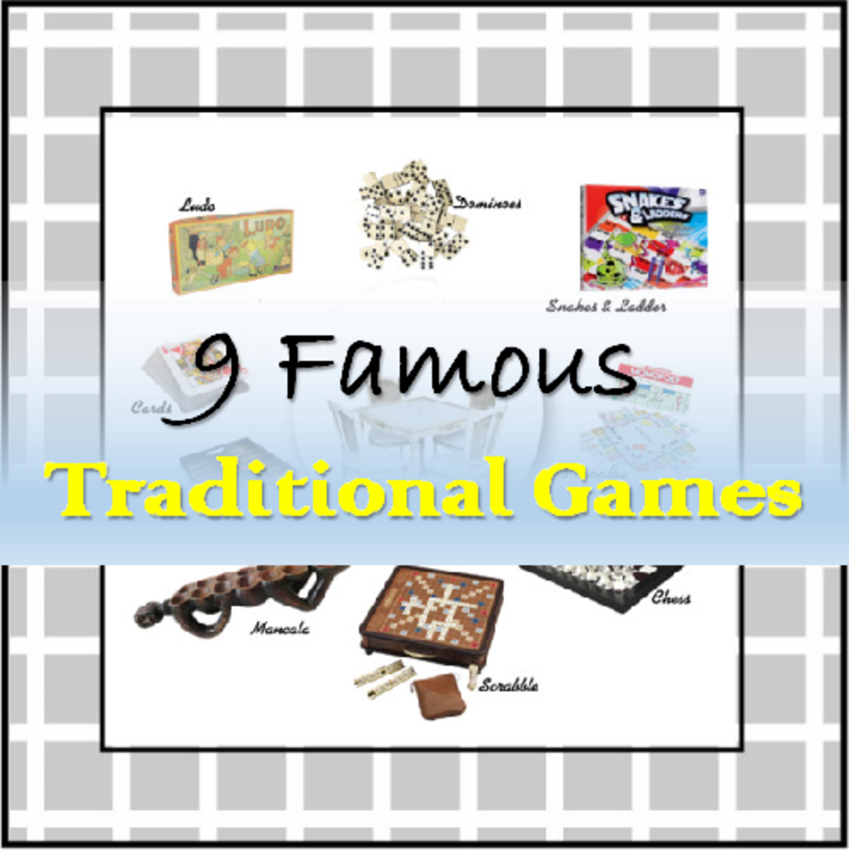 Do you remember these popular traditional games we played way before game technologies and the internet? Well, many people still play them today, preferring to stick to the traditional boards, dice, and cards we used to play them.